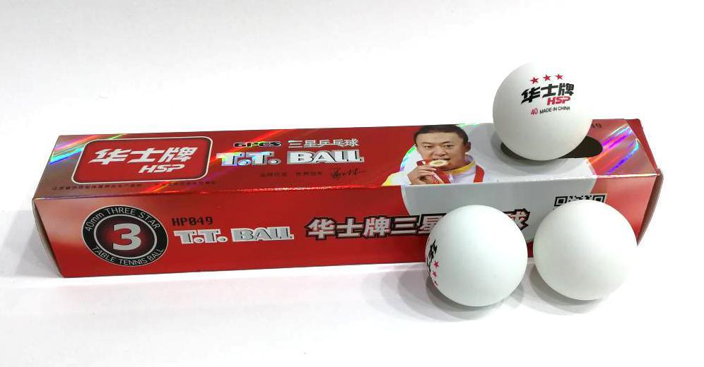 Шарики для настольного тенниса 6 штук 3-STAR