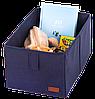 Ящик-органайзер для хранения вещей M (синий), фото 3