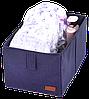 Ящик-органайзер для хранения вещей M (синий), фото 4