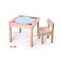 Столик парта детская Лола без стульчика (девочке), фото 1