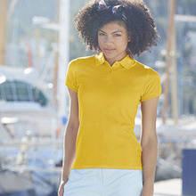 Женская рубашка поло премиум - 63-030-0