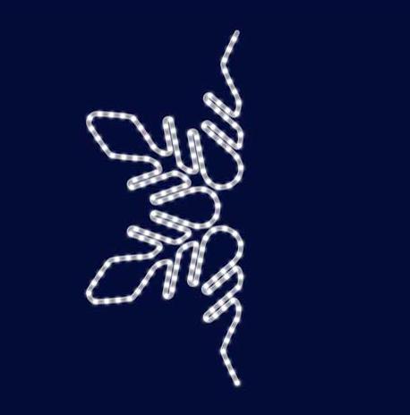 Снежинка светодиодная SL037, фото 2