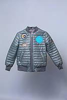 """Куртка детская для мальчика демисезонная """"Mechanic"""""""