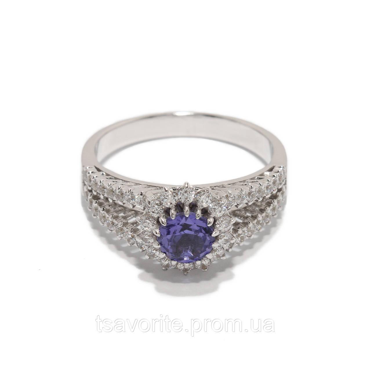Золотое кольцо с наноситалом 1212944