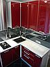 Кухни на заказ стекло blum