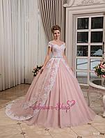 Свадебное платье для настоящей принцессы. Белый или пудра