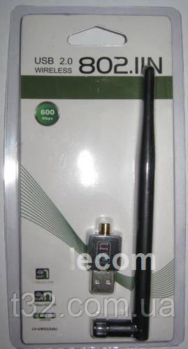 Адаптер Wi-Fi W-01с длинной антенной
