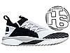 Мужские кроссовки реплика Puma TSUGI JUN Cubism Black/White 365490-01