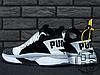 Мужские кроссовки реплика Puma TSUGI JUN Cubism Black/White 365490-01, фото 5