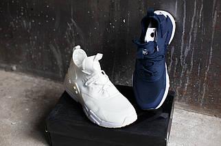 Кроссовки мужские Nike Huarache RUN Ultra.Синие,белые, фото 2