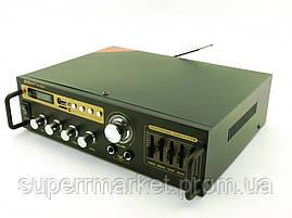 Усилитель звука 30W рэковый Max SN-888BT c Bluetooth FM MP3, фото 2