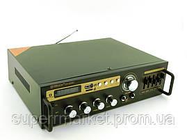 Усилитель звука 30W рэковый Max SN-888BT c Bluetooth FM MP3, фото 3