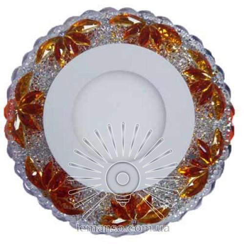Led светильник врезной со светодиодной подсветкой Пальма 3+3W Lemanso