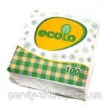 Салфетки столовые Ecolo 100шт