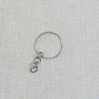 Основа для брелка маленькое кольцо с цепочкой
