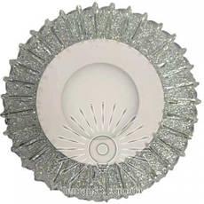 Точечный врезной светильник со светодиодной подсветкой Луна 3+3W Lemanso, фото 3