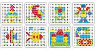 """Пазл TU LE HUI Screw Puzzle конструктор """"""""Болтовая мозаика"""""""" с отверткой 180 шт (SYN0596), фото 1"""
