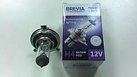 Лампа галогеновая BREVIA H4 12V 60/55W +30% - производства Корея