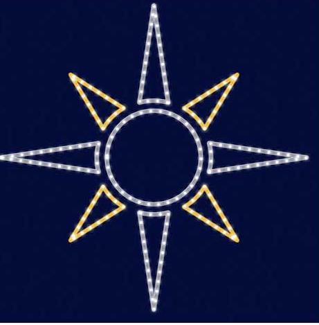 Звезда светодиодная LZ027, фото 2