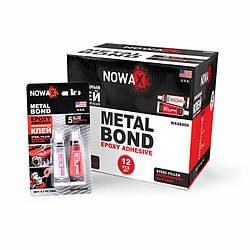 Эпоксидный клей стальной NOWAX Metal Bond