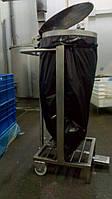 Стійка тримач для сміттєвих пакетів з кришкою