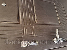 Бронедвери венге - белая текстура, фото 2
