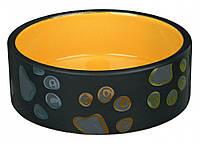 Миска керамическая для собак Trixie Jimmy Ceramic Bowl