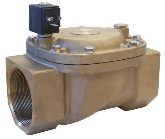 Електромагнітний клапан для повітря 21W8KB650-HP (ODE, Italy), G2 1/2