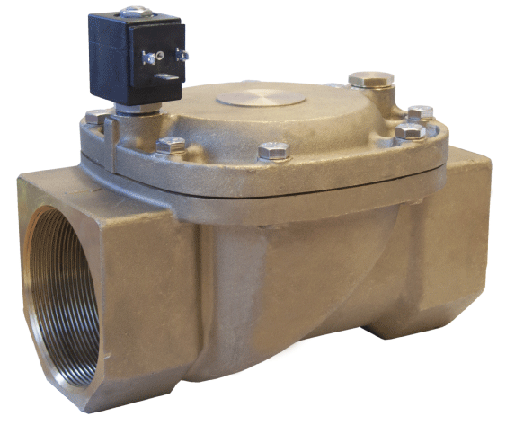 Электромагнитный клапан для воздуха 21W8KB650 (ODE, Italy), G2 1/2, Купить в Киеве