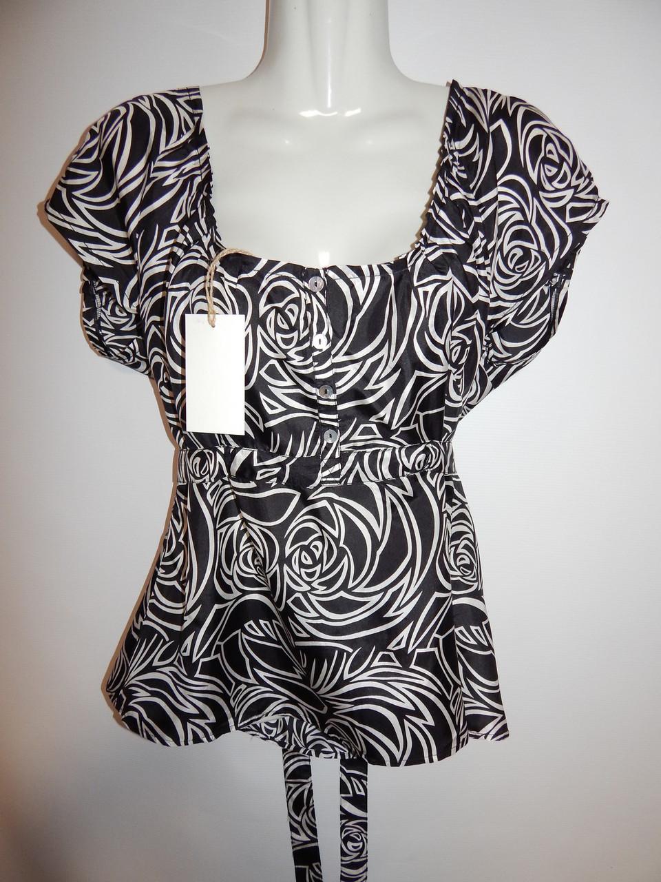 Блуза легкая фирменная женская Monsoon 50-52р.130ж