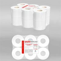 PRO service Туалетная бумага 2-х слойная, 120 м.