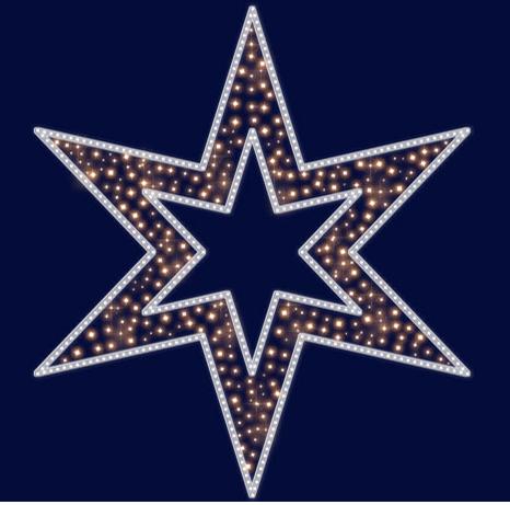 Звезда светодиодная LZ047, фото 2
