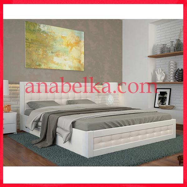 Кровать деревянная Рената Д с подъемным механизмом (Arbor)