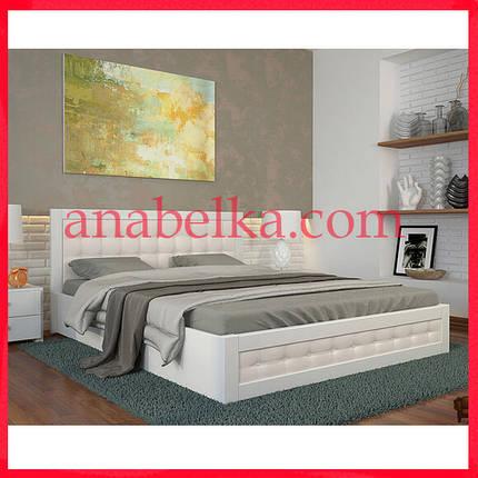 Кровать деревянная Рената Д с подъемным механизмом (Arbor), фото 2