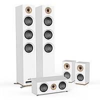 Комплект акустики 5.0 Jamo S 809 HCS White