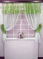 """Кухонные шторы """"Люсси"""" Трава, фото 2"""