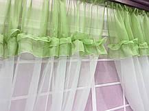 """Кухонные шторы """"Люсси"""" Трава, фото 3"""