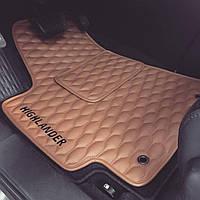 Premium коврики в салон Audi A6 (C7)(2011-), с бортами