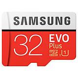 Карта пам'яті Samsung microSD 32GB class 10 UHS-I EVO+, фото 5