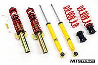 Винтовая регулируемая подвеска MTS-Technik® (Audi,Volkswagen, Seat, Skoda) Coilovers Kit