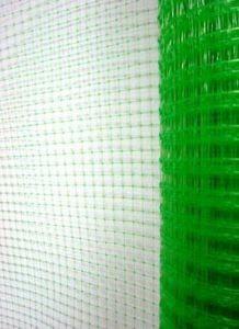 Сетка для птичников Ф-13 (1м*50м, яч. 13*15мм), зеленая