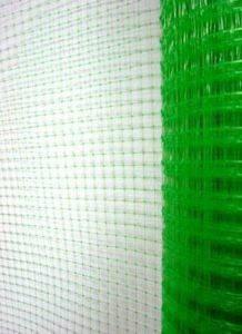 Сетка для птичников Ф-13 (1м*50м, яч. 13*15мм), зеленая, фото 2