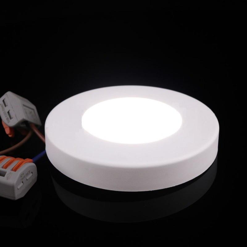 Светильник светодиодный Biom SF-R3 W 3Вт 5000K накладной