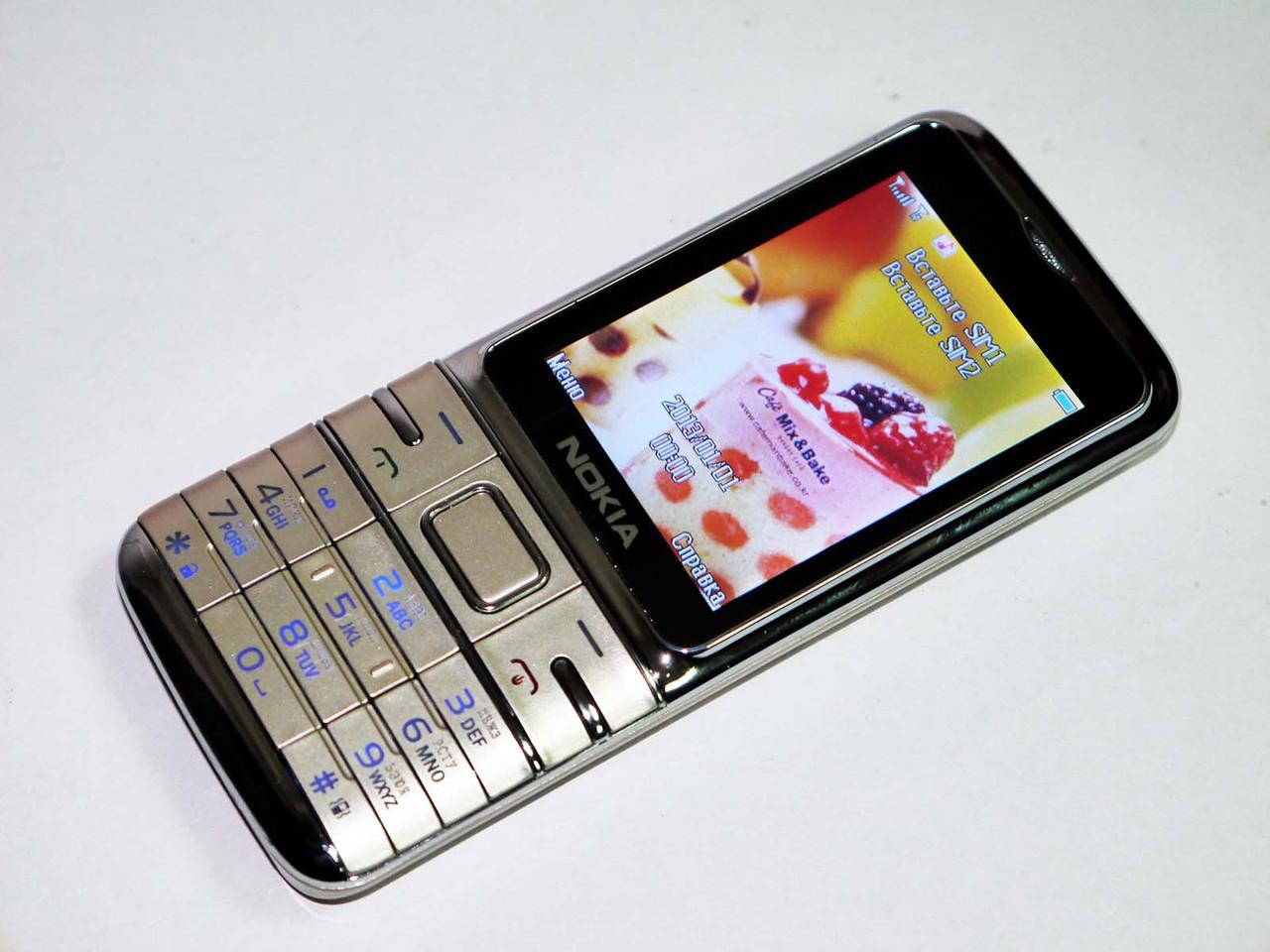 Nokia L300 Золотой - 2Sim+Bluetoth+Camera, фото 1