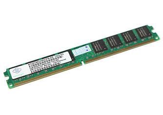 Память 2Gb DDR2, 800 MHz (PC6400), Nanya, CL6 (NT2GT64UH8DOFN-AD)