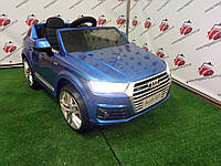 Детский электромобиль Audi Q7 (M 3231 EBLRS-4), автопокраска, синий
