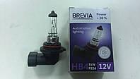 """Лампа галогеновая """"BREVIA"""" HB4 12V 55W P22D POWER +30% - производства Корея"""