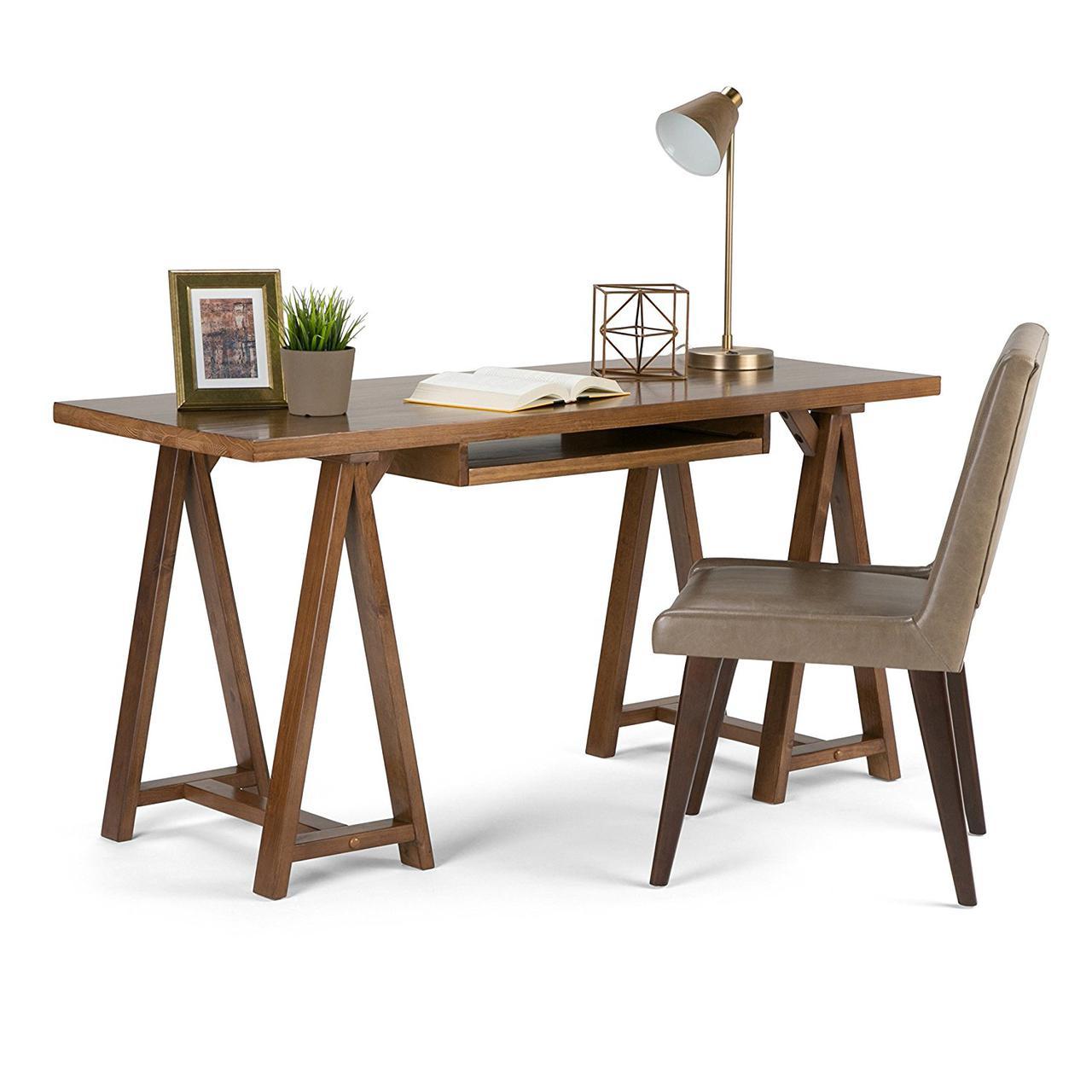 """Деревянный письменный стол """"Рубен"""" из массива"""