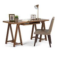 """Деревянный письменный стол """"Рубен"""" из массива, фото 1"""
