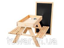 Стол + 2 скамьи + Песочница + доска